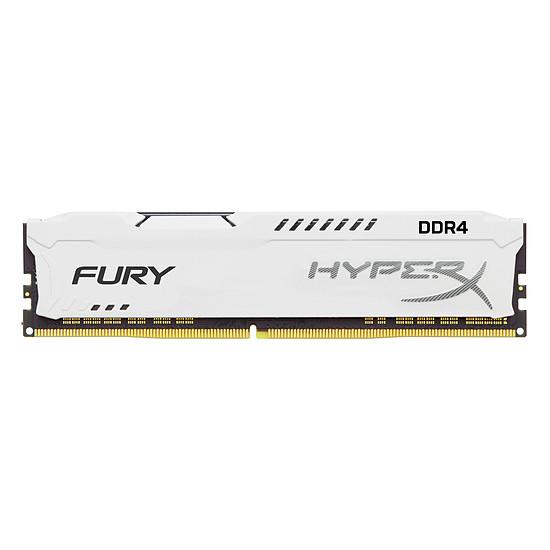 Mémoire HyperX Fury White DDR4 1 x 8 Go 2933 MHz CAS 17