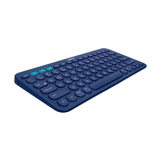 Clavier PC Logitech K380 Multi-Device - Bleu - Autre vue