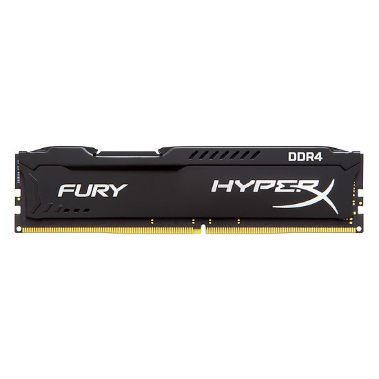 Mémoire HyperX Fury Black DDR4 1 x 4 Go 2933 MHz CAS 17