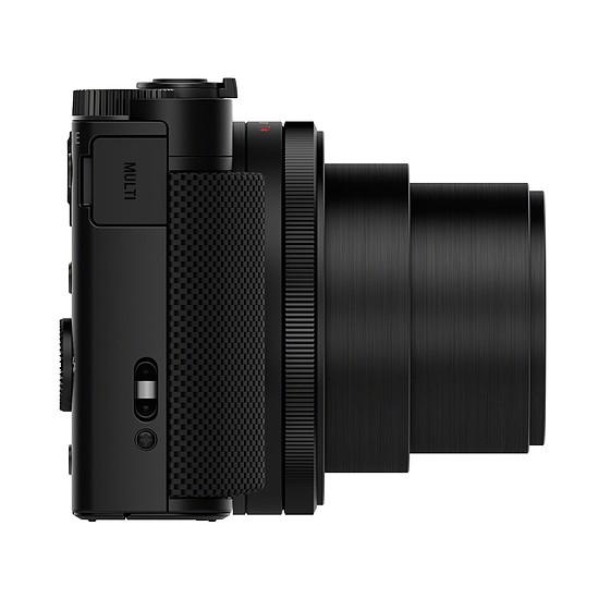 Appareil photo compact ou bridge Sony CyberShot DSC-HX90 Noir + SanDisk Extreme microSDHC UHS-I U3 V30 32 Go + Adaptateur SD - Autre vue