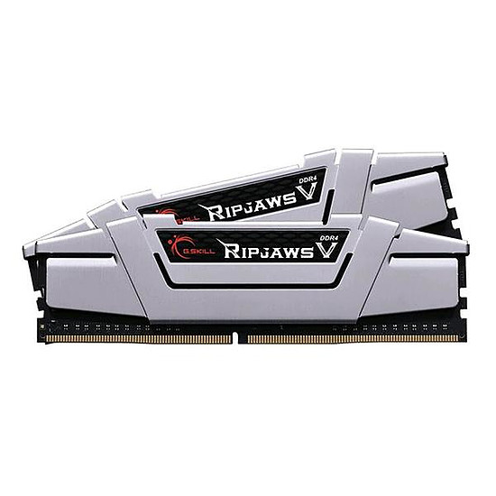 Mémoire G.Skill Ripjaws V Silver DDR4 2 x 8 Go 2400 MHz CAS 15