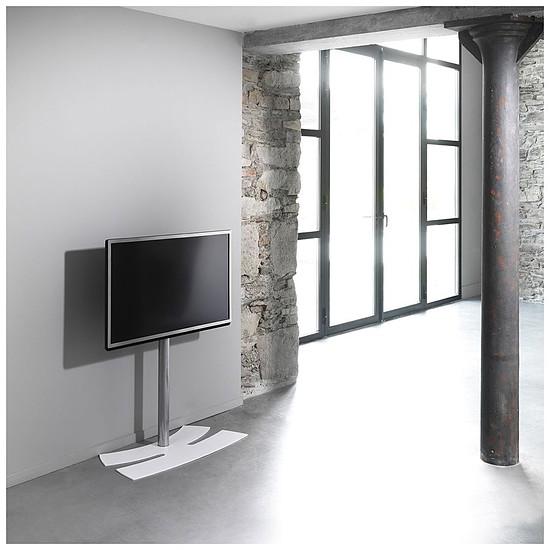 Support TV ERARD Lux Up 1400L Blanc - Autre vue