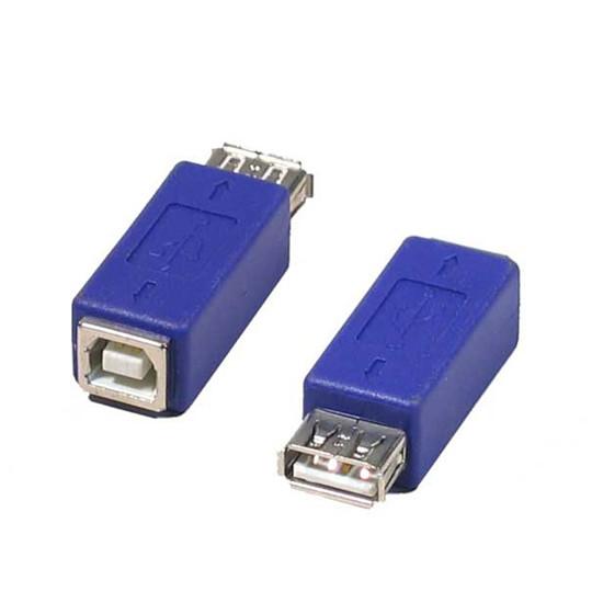 USB Adaptateur USB 2.0 type A femelle / B femelle