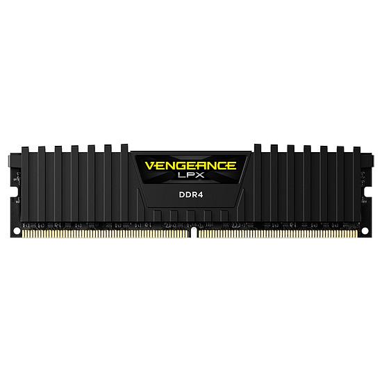 Mémoire Corsair Vengeance LPX Black - 1 x 8 Go (8 Go) - DDR4 3600 MHz - CL18 - Ryzen Edition