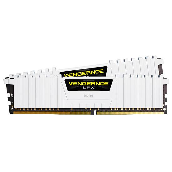 Mémoire Corsair Vengeance LPX White - 2 x 16 Go (32 Go) - DDR4 3200 MHz CL16