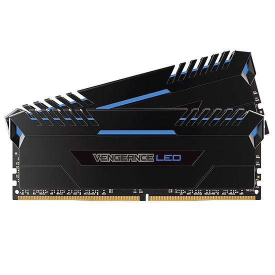 Mémoire Corsair Vengeance LED Blue DDR4 2 x 16 Go 3000 MHz CAS 15