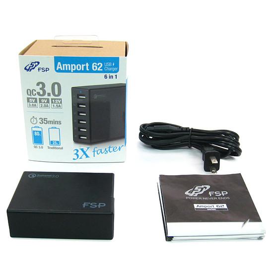 USB FSP Amport 62 Noir - Autre vue