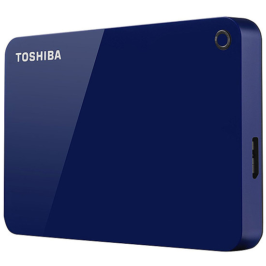 Disque dur externe Toshiba Canvio Advance 1 To - Bleu - Autre vue
