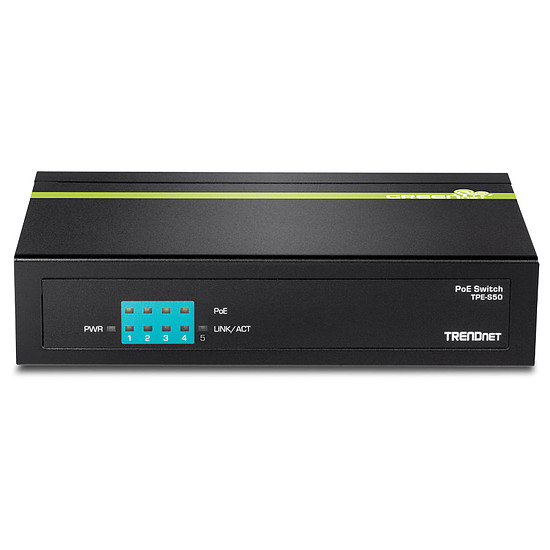 Switch et Commutateur TrendNet TPE-S50 - Switch 5 ports PoE