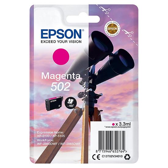 Cartouche d'encre Epson Magenta 502