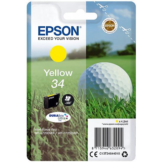 Cartouche imprimante Epson Jaune 34