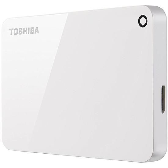 Disque dur externe Toshiba Canvio Advance 4 To Blanc