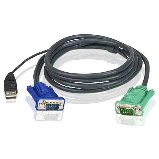 KVM Aten - Câble KVM USB - 3m