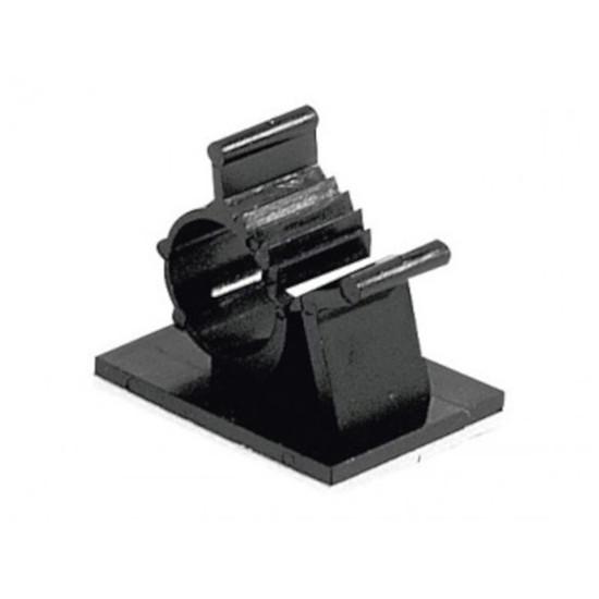 Passe câble et serre câble Serre-câble adhésif (25 mm)