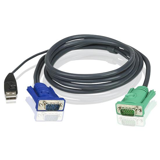 KVM Aten - Câble KVM USB - 5m