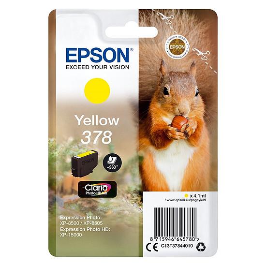 Cartouche d'encre Epson Jaune 378