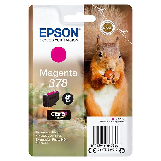 Cartouche imprimante Epson Magenta 378