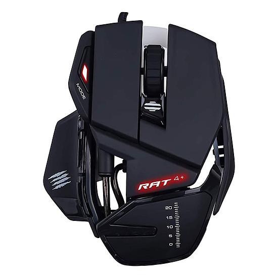 Souris PC Mad Catz R.A.T.4+ - Noir