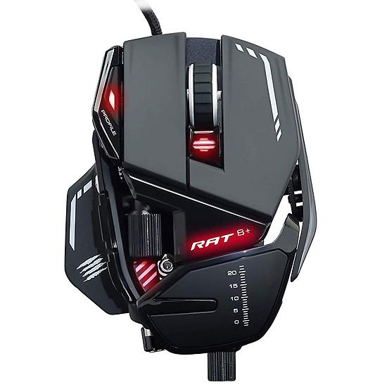 Souris PC Mad Catz R.A.T.8+ - Noir