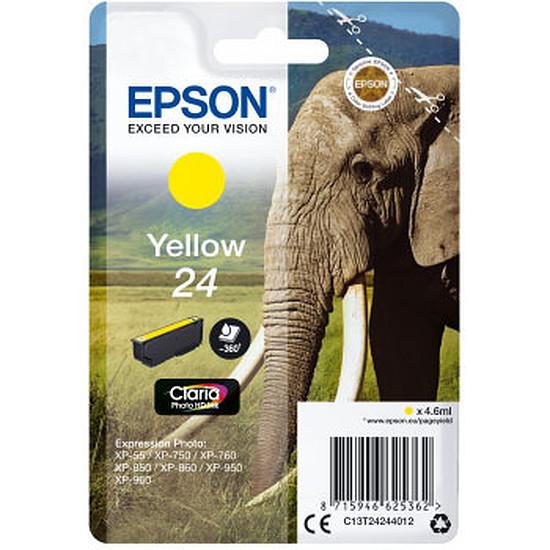 Cartouche imprimante Epson Jaune 24