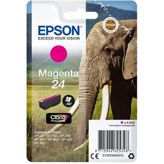Cartouche imprimante Epson Magenta 24