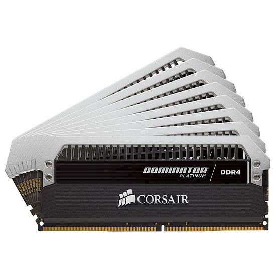 Mémoire Corsair Dominator Platinum DDR4 8 x 16 Go 3000 MHz CAS 16