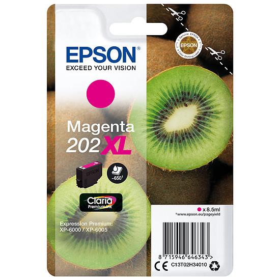 Cartouche imprimante Epson Magenta 202XL