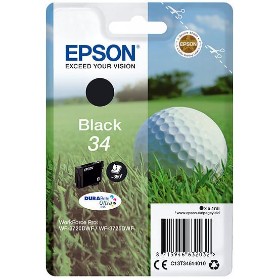 Cartouche imprimante Epson Noir 34