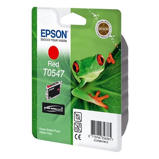 Cartouche imprimante Epson Rouge T0547