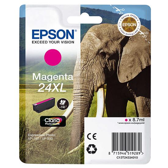 Cartouche d'encre Epson Magenta 24XL