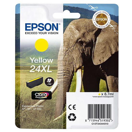 Cartouche imprimante Epson Jaune 24XL