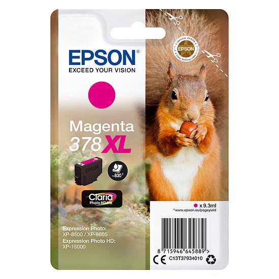 Cartouche imprimante Epson Magenta 378XL