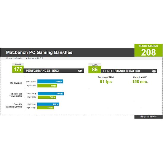 PC de bureau Materiel.net Banshee [ PC Gamer ] - Autre vue