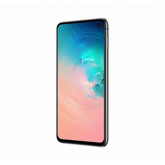 Smartphone et téléphone mobile Samsung Galaxy S10e (blanc) - 128 Go - 6 Go