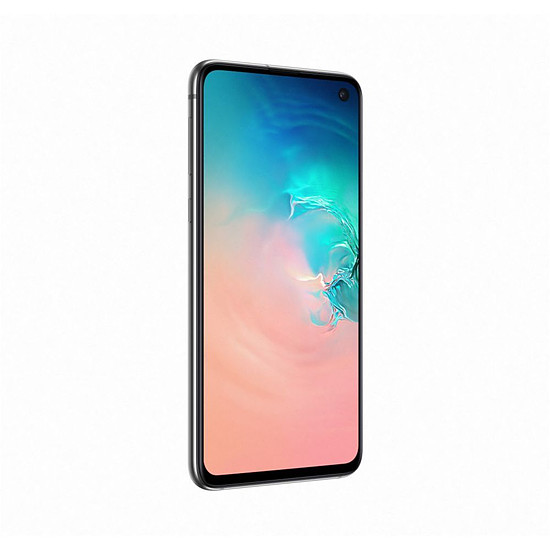 Smartphone et téléphone mobile Samsung Galaxy S10e (blanc) - 128 Go - 6 Go - Autre vue