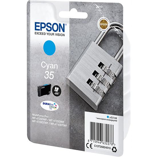 Cartouche imprimante Epson Cyan 35