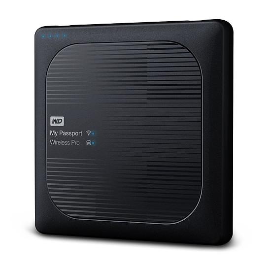 Disque dur externe Western Digital (WD) My Passport Wireless Pro - 1 To (Noir) - Autre vue