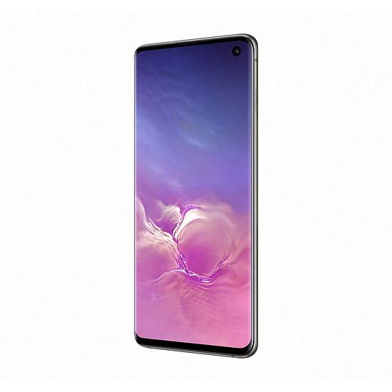 Smartphone et téléphone mobile Samsung Galaxy S10 (noir) - 128 Go - 8 Go