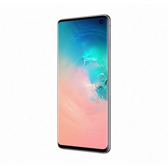 Smartphone et téléphone mobile Samsung Galaxy S10 (blanc) - 128 Go - 8 Go