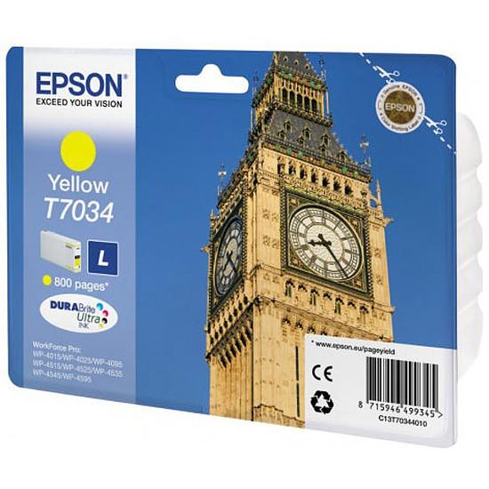 Cartouche imprimante Epson Jaune T7034