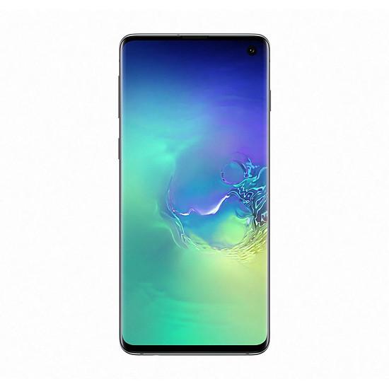 Smartphone et téléphone mobile Samsung Galaxy S10 (vert) - 128 Go - 8 Go - Autre vue