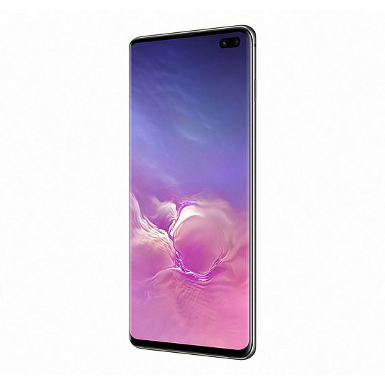 Smartphone et téléphone mobile Samsung Galaxy S10+ (noir) - 128 Go - 8 Go