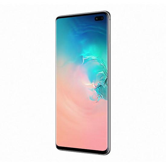 Smartphone et téléphone mobile Samsung Galaxy S10+ (blanc) - 128 Go - 8 Go