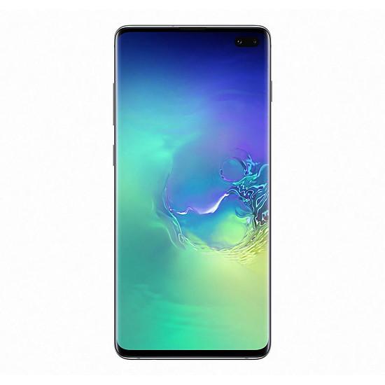 Smartphone et téléphone mobile Samsung Galaxy S10+ (vert) - 128 Go - 8 Go - Autre vue