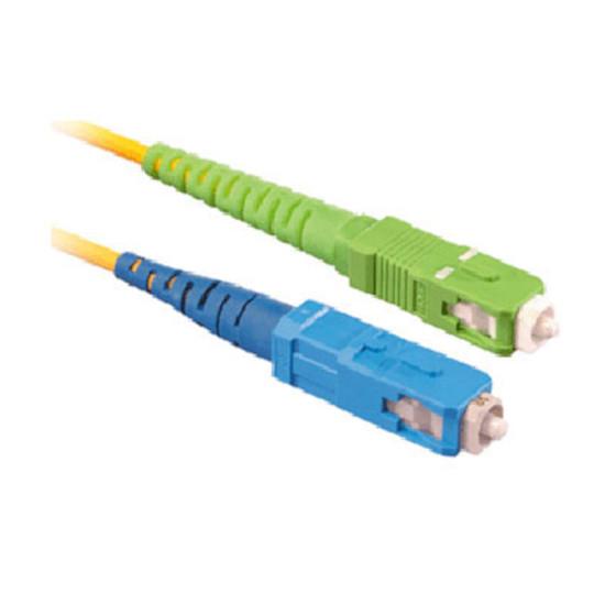 Câble fibre Optique Jarretière optique simplex monomode 9/125 SC-APC/SC-UPC (5 mètres)
