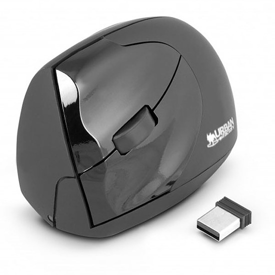 Souris PC Urban Factory Ergo Mouse Wireless pour gaucher