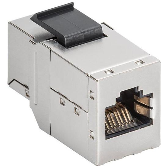 Connectique RJ45 Goobay Coupleur RJ45 Keystone Cat 6a STP - 500 MHz - Autre vue