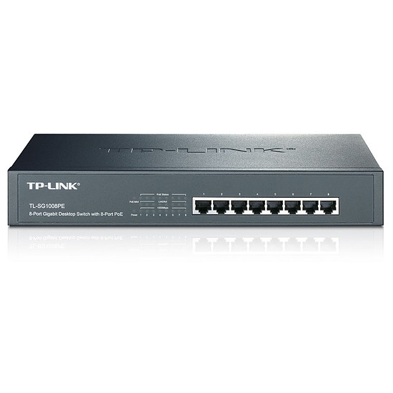 Switch et Commutateur TP-Link - TL-SG1008PE
