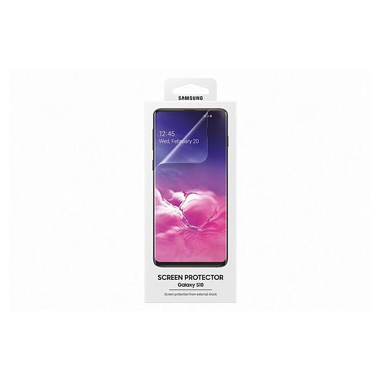 Protection d'écran Samsung Film protecteur - Samsung Galaxy S10