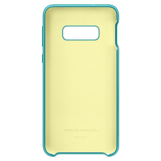 Coque et housse Samsung Coque silicone (vert) - Samsung Galaxy S10E - Autre vue